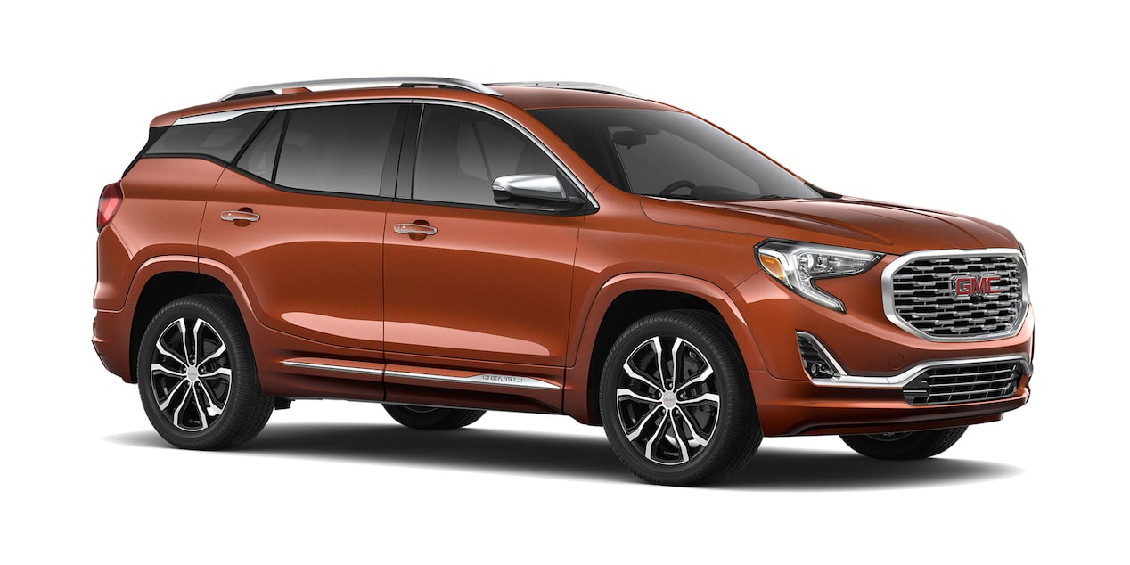 GMC Terrain 2019 camioneta familiar color cobre
