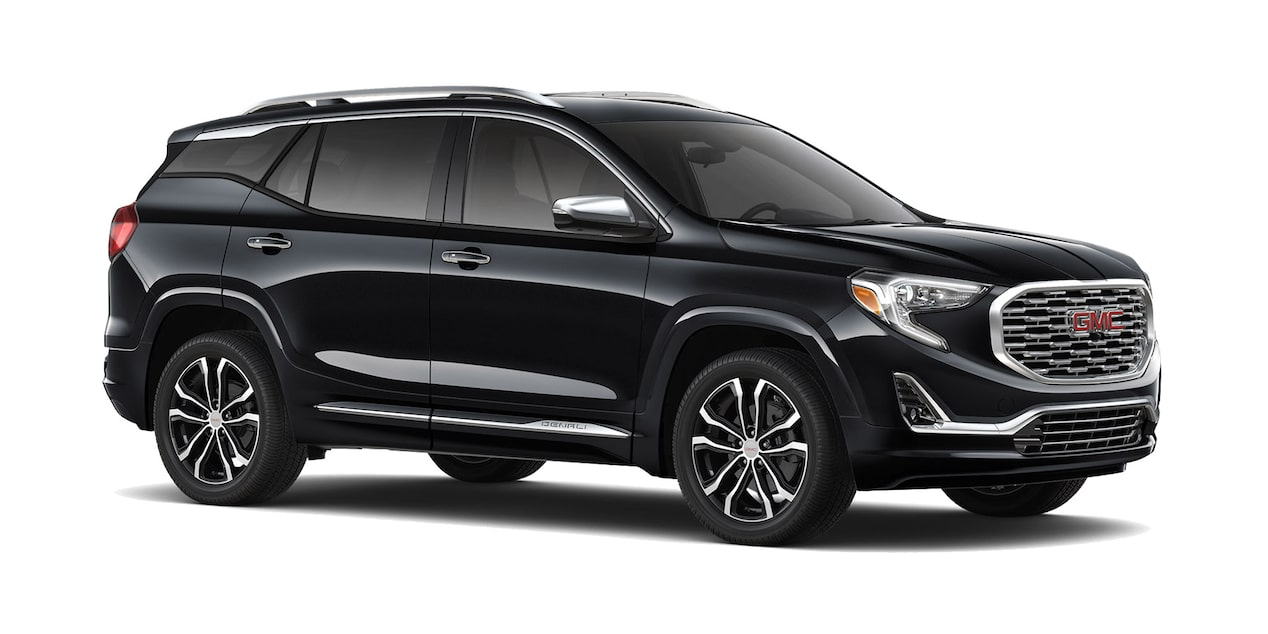 GMC Terrain 2019 camioneta familiar color negro ónix