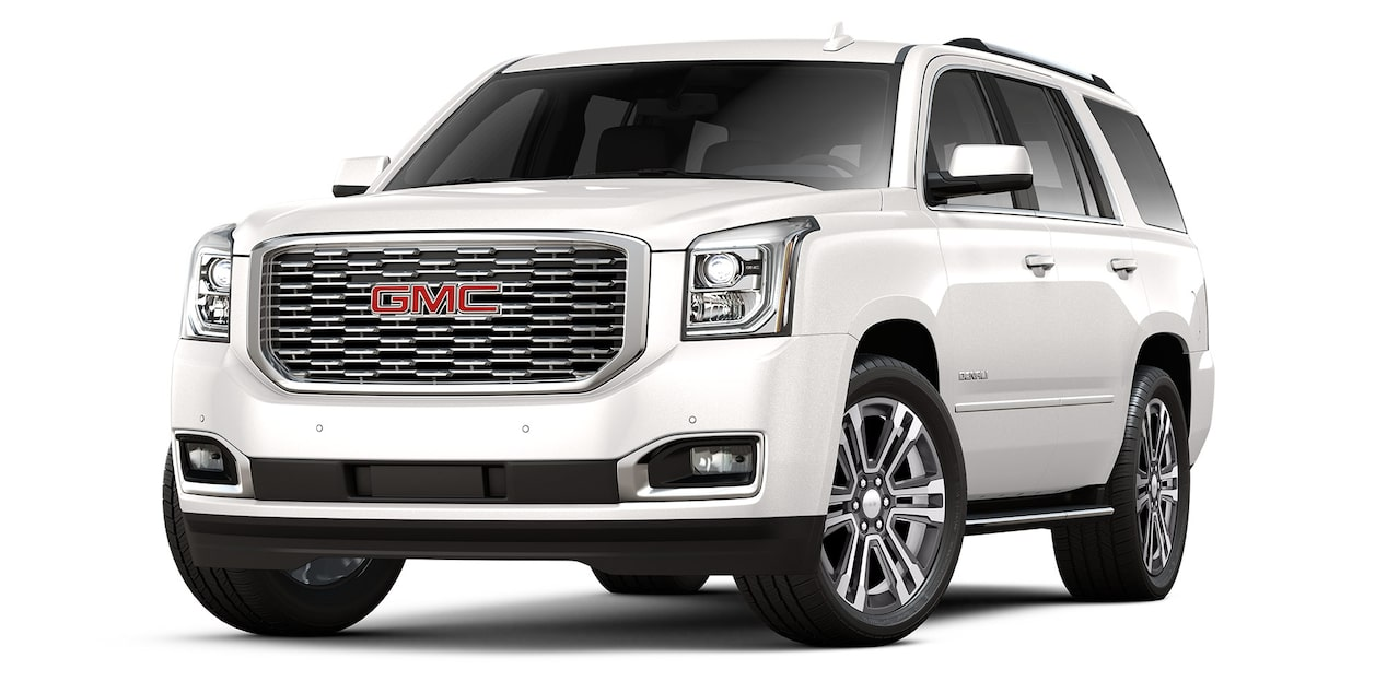 GMC Yukon 2019 suv color blanco platino