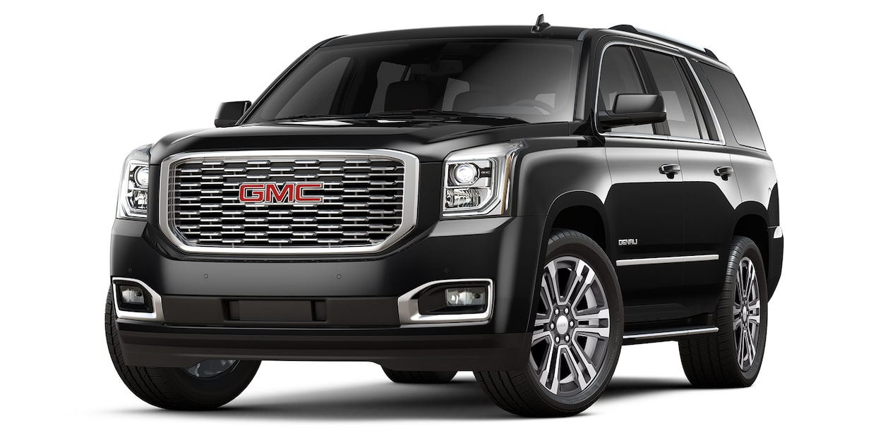 GMC Yukon 2019 suv color negro
