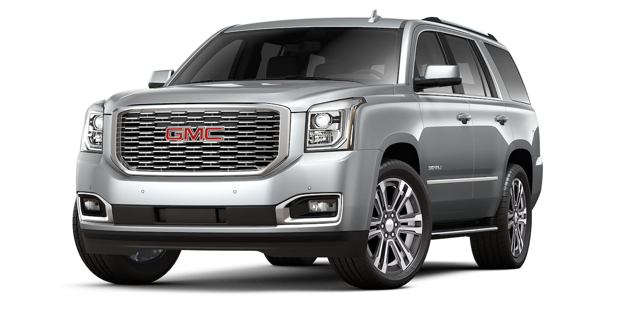 GMC Yukon 2019 suv color plata brillante