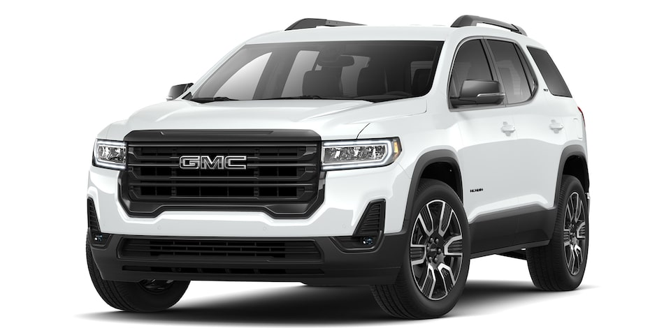 Acadia Black Edition 2021 en color blanco