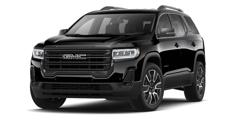 Acadia Black Edition 2021 en color negro onix