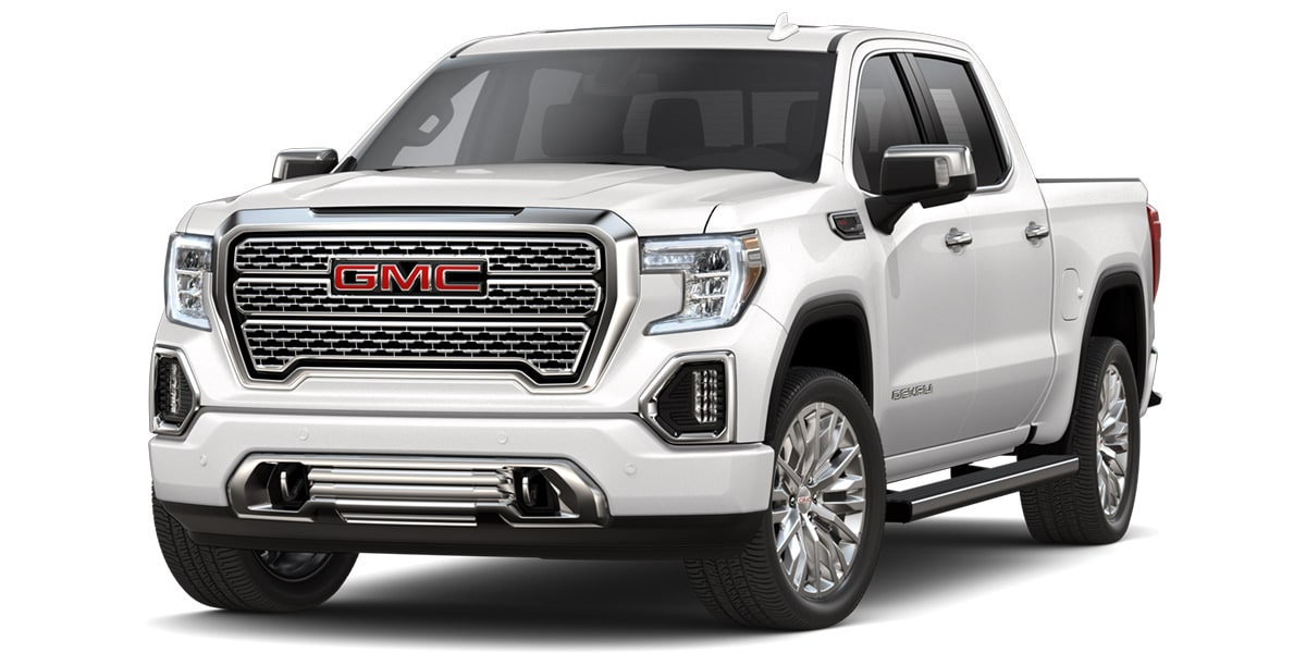 GMC Sierra 2019 pick up color blanco platino