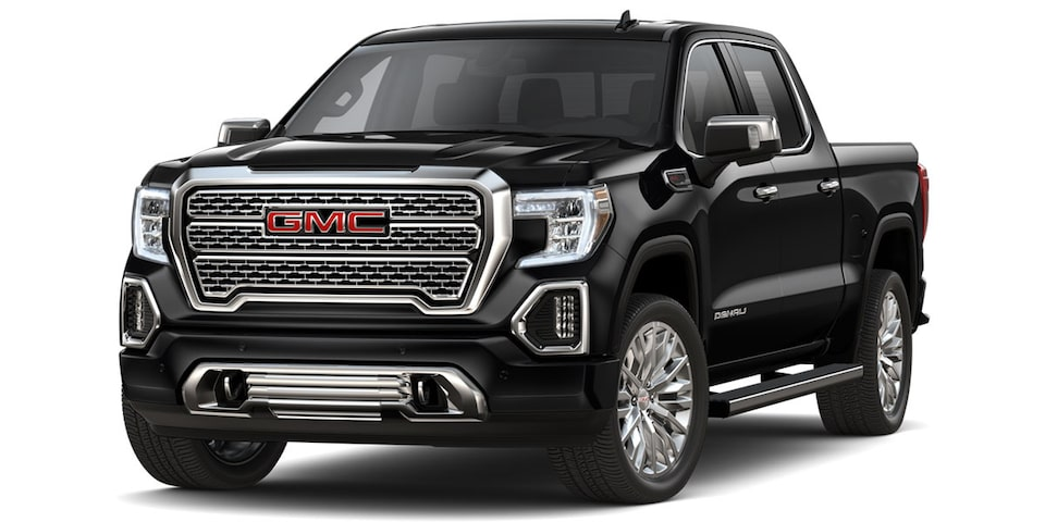 GMC Sierra 2019 pick up color negro