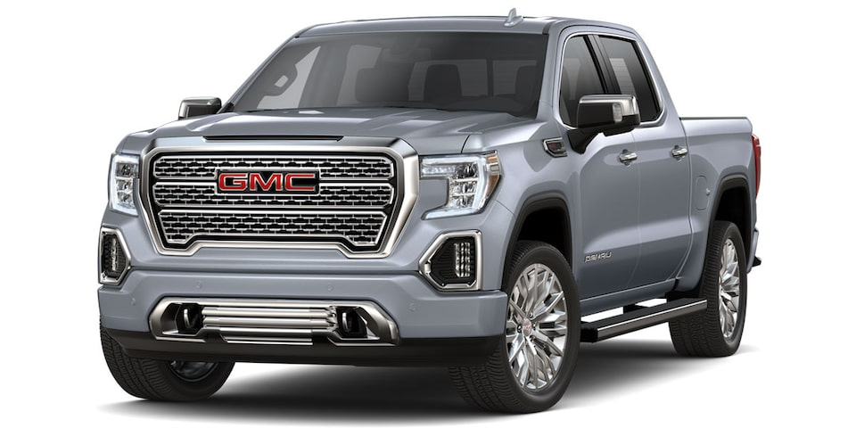GMC Sierra 2019 pick up color plata metalico