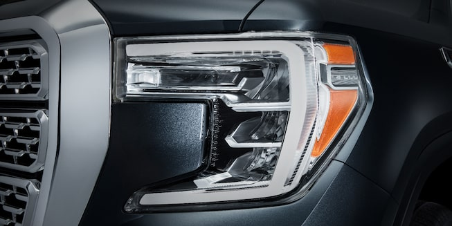 Faro LED de pick up GMC Sierra 2019 Highbeam y faro para niebla