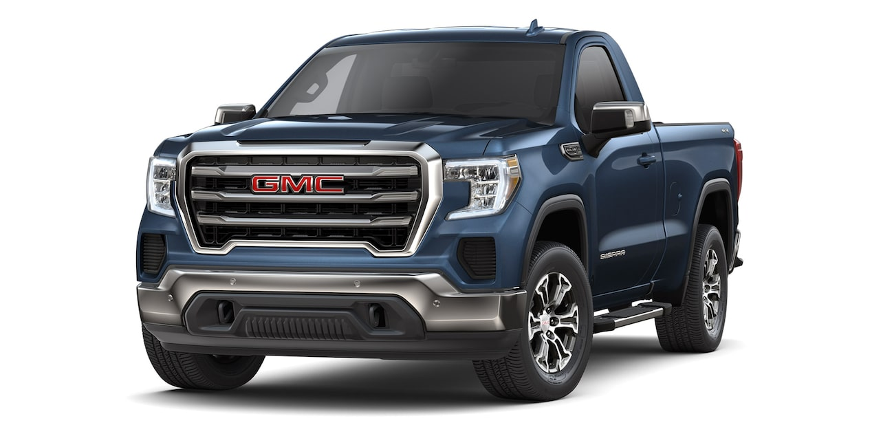 GMC Sierra Regular 2019 4x4 color azul