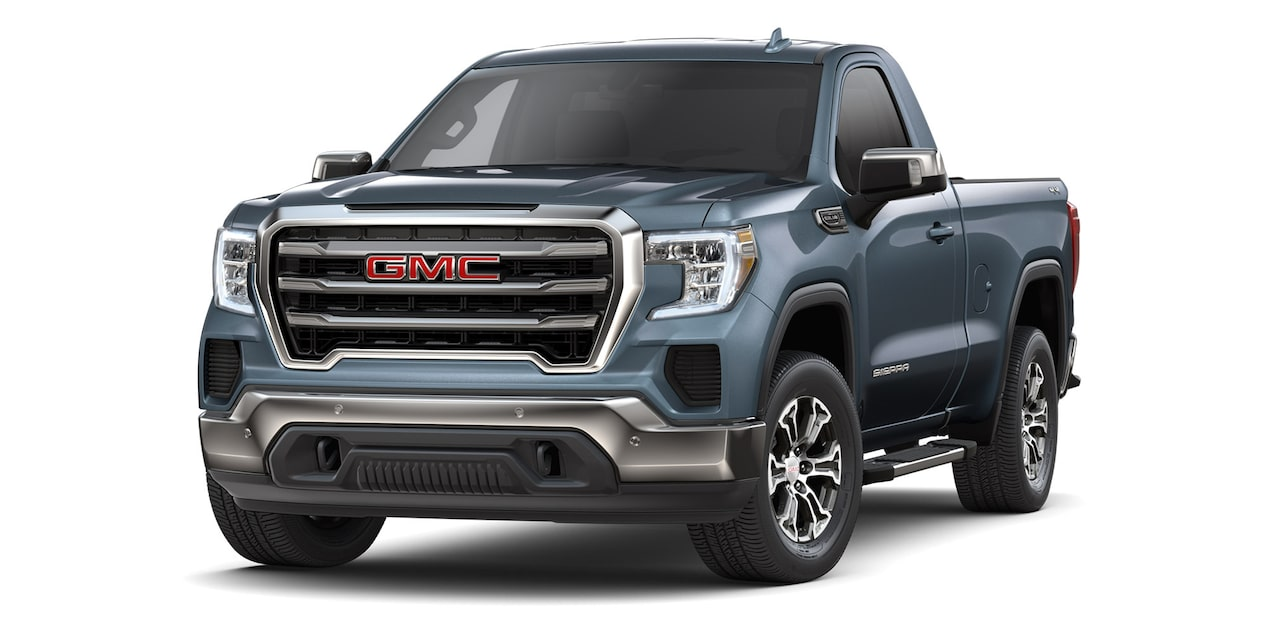 GMC Sierra Regular 2019 4x4 color gris basalto metálico