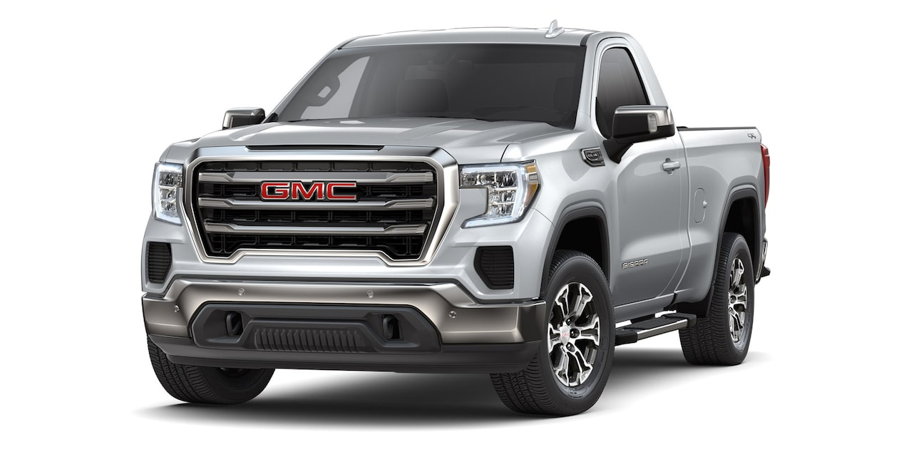 GMC Sierra Regular 2019 4x4 color plata brillante